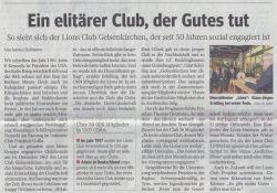 20020509 WAZ - 50 Jahre Lions Club Gelsenkirchen